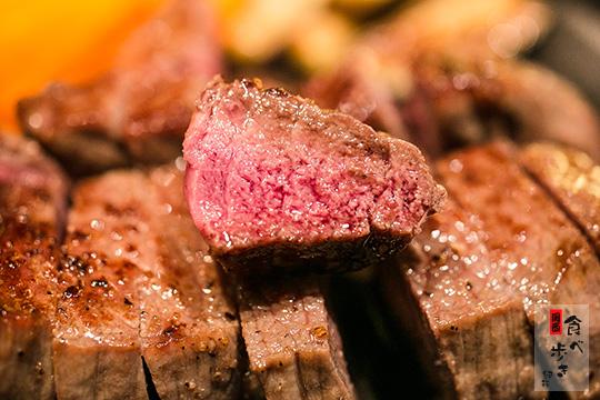 熟成黒毛和牛ステーキ