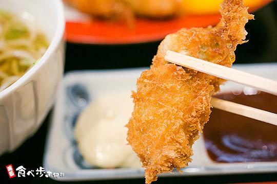 甚九郎 牡蠣フライ