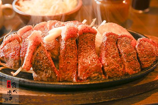 ステーキハンバーグ タケル