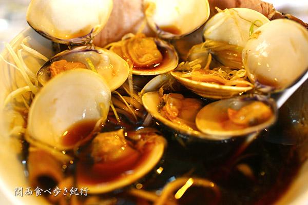 ハマグリらーめんの蛤