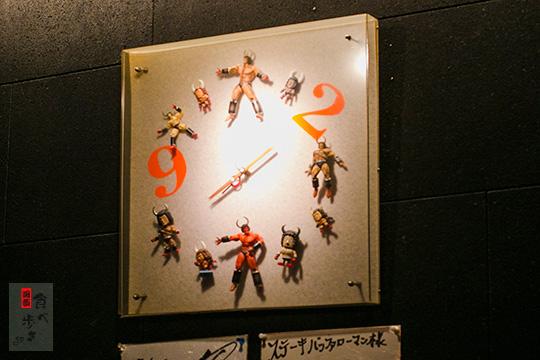 バッファローマン 時計