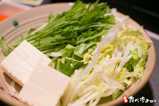 かごの屋 鍋野菜