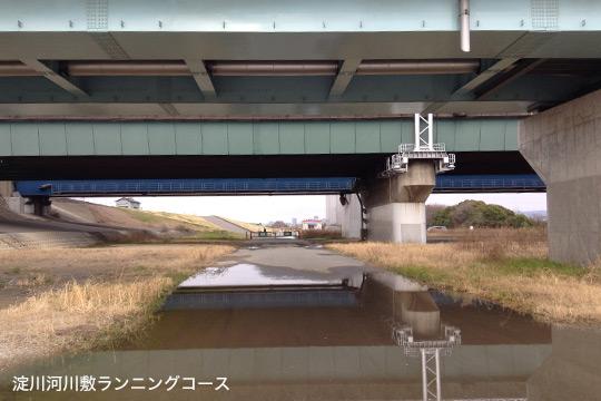 河川敷大雨