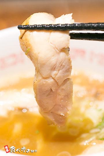 鶏そばのレアチャーシュー
