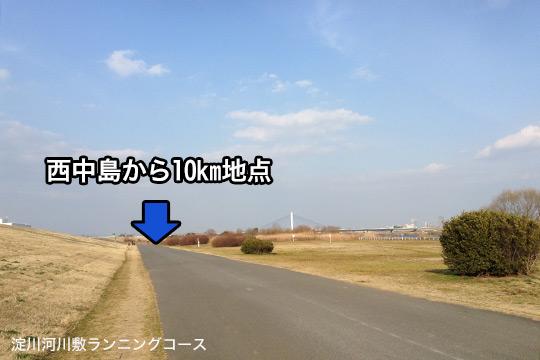 淀川ランニング10km