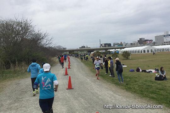 なにわ淀川ハーフマラソン