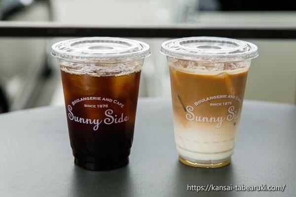 アイスコーヒーとバニラアイスカフェ