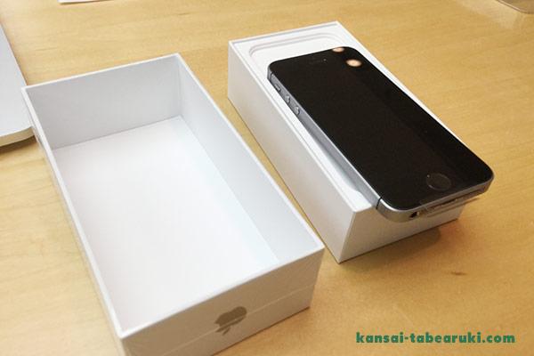 iPhoneSE購入