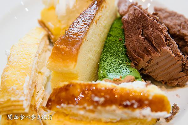 スイーツパラダイスのケーキ