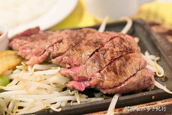 ハネシタステーキ定食