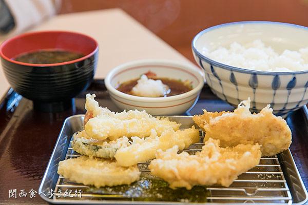 Wチーズ天ぷら定食