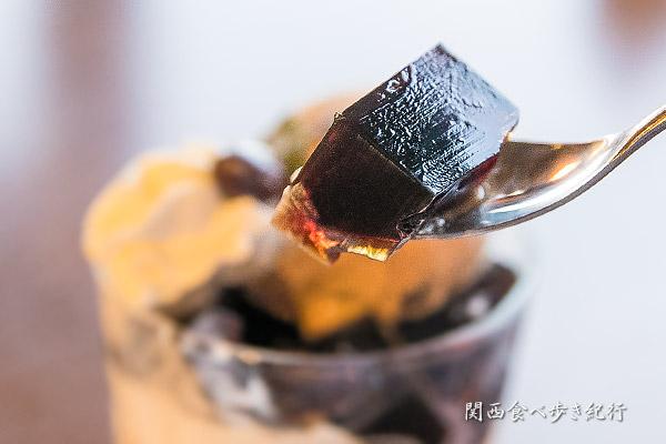 コーヒーゼリーパフェ