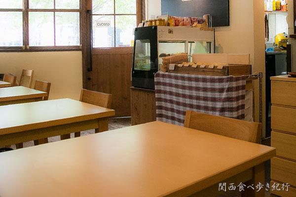 cafe n.a.t.の店内