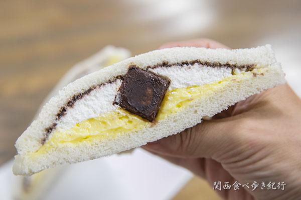 カスタードチョコバナナ