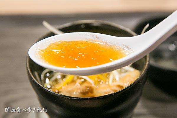 濃口醤油スープ