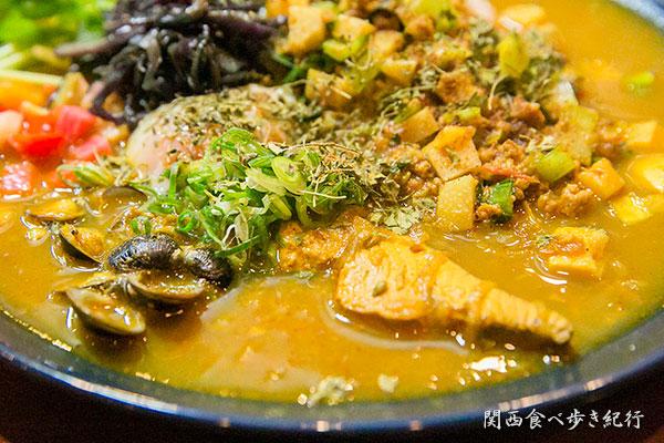 魚介出汁カレー