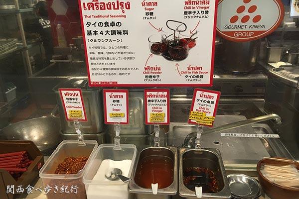 タイの四大調味料