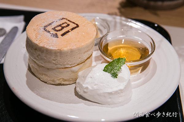 ホワイトスフレ パンケーキ