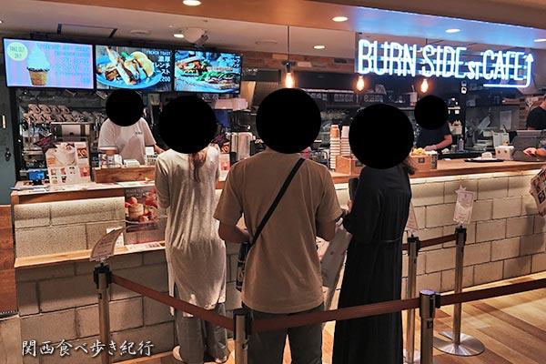 BURN SIDE ST CAFE 阪急三番街店