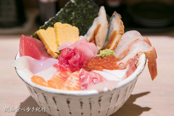 メガ盛り海鮮丼
