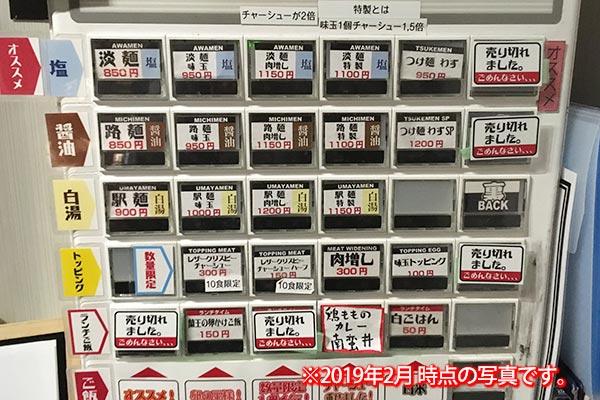 NAKAGAWA わず 券売機