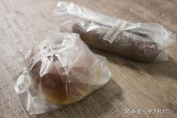 cookhouse BAKERY BARで買ってきたパン