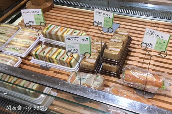 サンドイッチ販売売り場