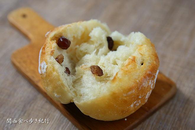 大納言食パンの中