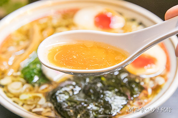ストレートのスープ