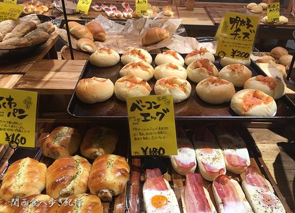 パンの販売スペース