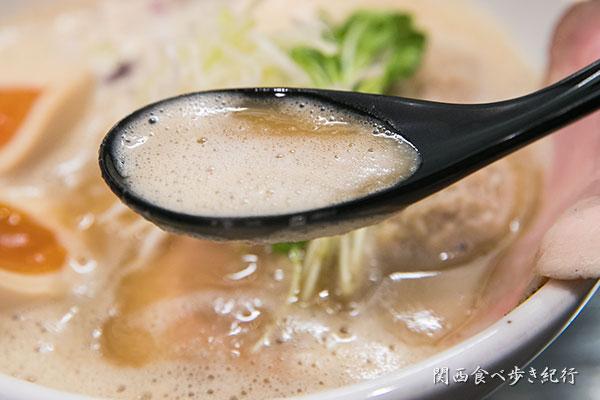 とりとん醤油スープ