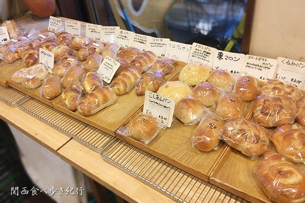 ベッケライミカのパン販売写真