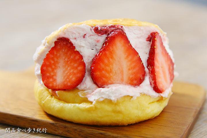 イチゴのマリトッツォ