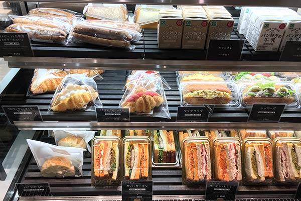 ル・プチメックのパン販売サンドイッチ