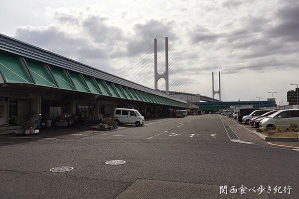 神戸市東灘区の東部中央市場