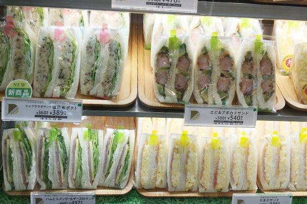 惣菜サンドイッチ
