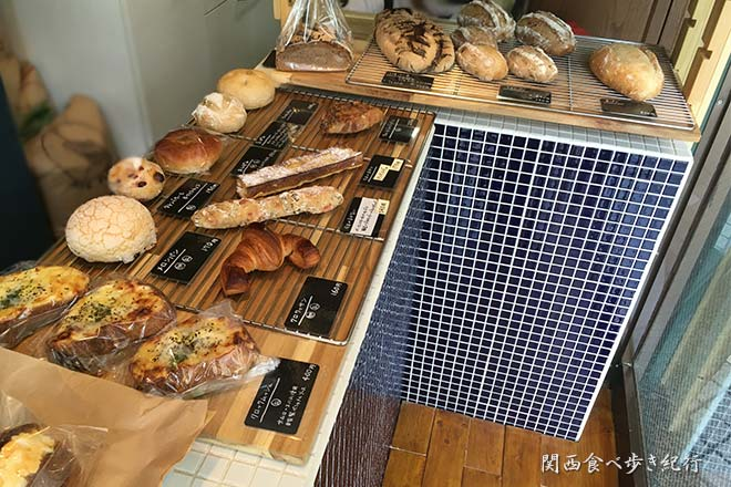 Stand out Bakerの店内