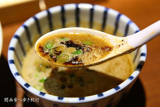 鶏白湯のスープ
