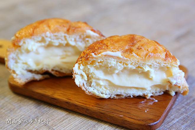 クリームパン塩バターの中身
