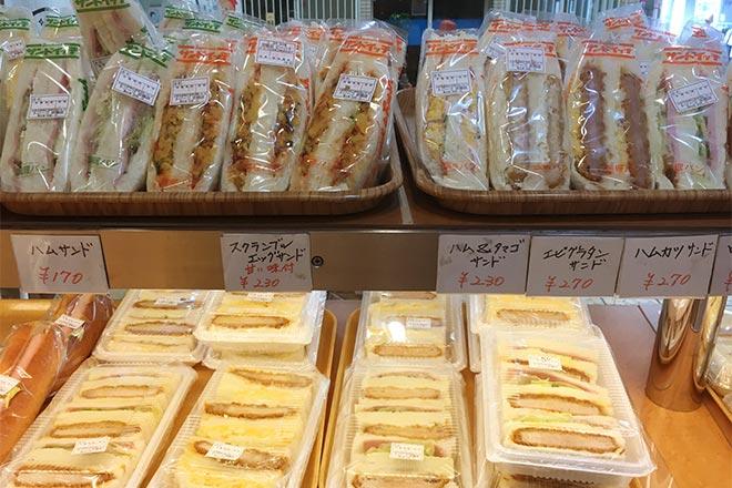 サンドイッチの販売