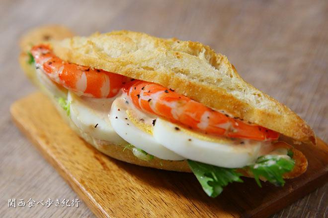 エビとたまごのサンドイッチ