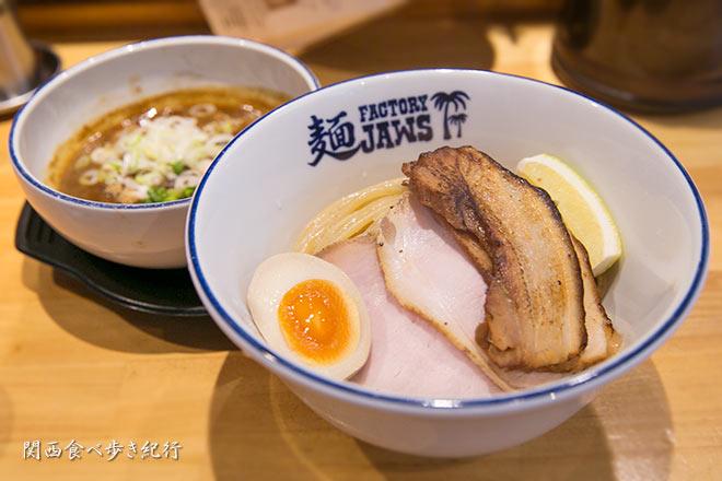 麺ファクトリー ジョーズのつけ麺(大盛り)