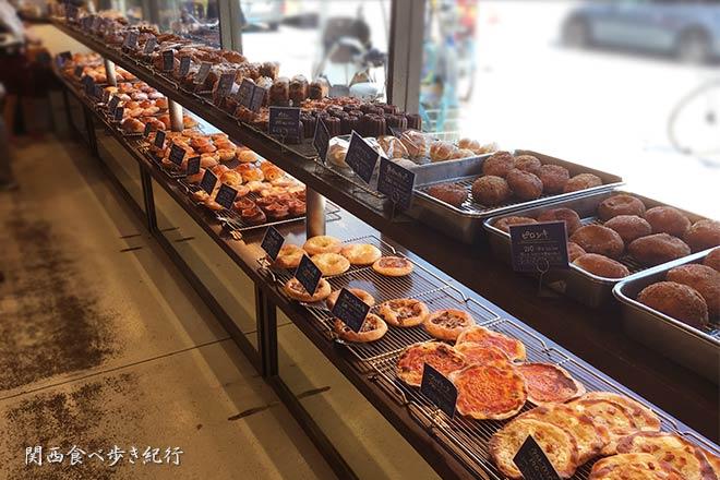 パリゴの店内のパン販売